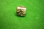 Ανάγλυφο γκρι-μαύρο δαχτυλίδι