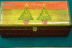 """""""Χριστουγ.Δέντρο 2"""" (Ξύλινο κουτί)."""