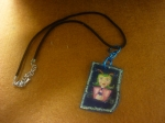 Necklace 'blue little girl'